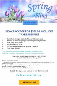 Twin Peaks Lodge Spring Fling 3-29-21